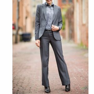 J.Crew Charcoal Gray Wool Suit
